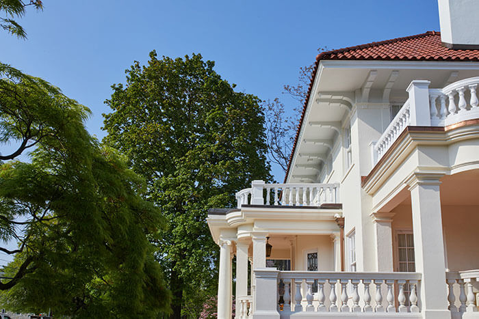 Wraparound Porch and second floor terrace