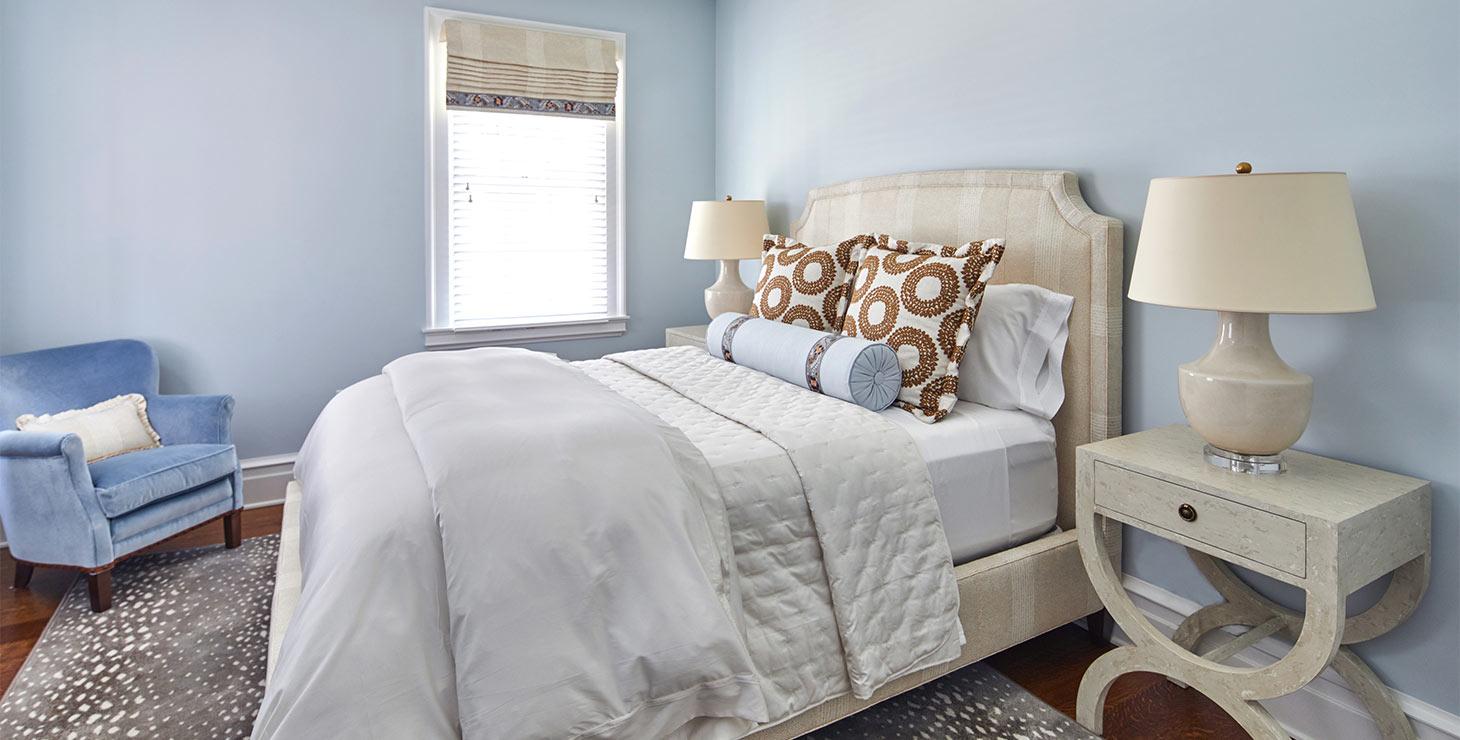 Bed in the Wilson room