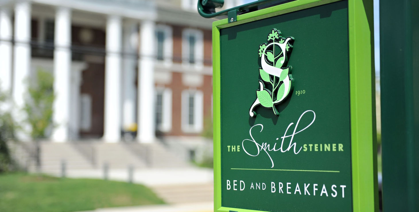 PA lodging sign - The Smith Steiner